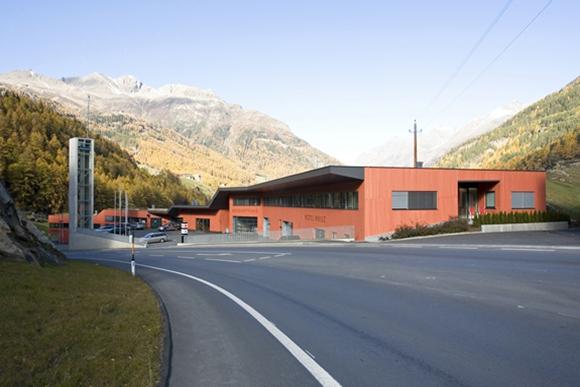 Einsatzzentrum Sölden 2006