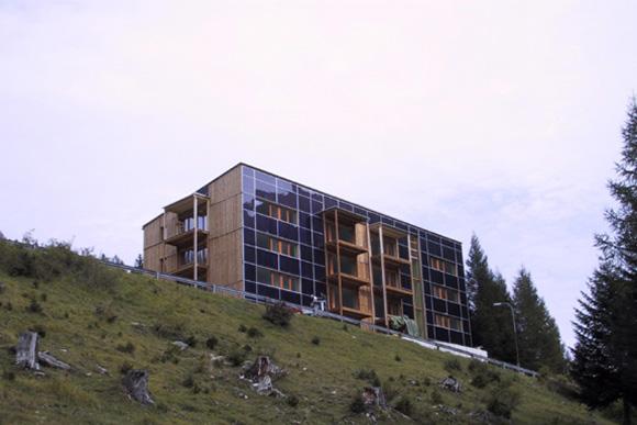 Mietswohnhaus Mooserkreuz, St. Anton 2001