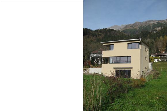 Einfamilienhaus Rauch, Mühlau bei Innsbruck 2008