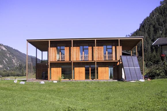Einfamilienhaus Riedl, Tösens 2000