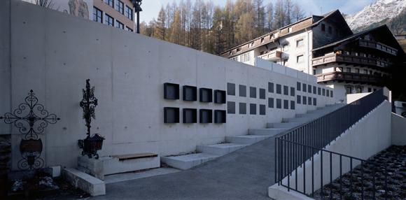 Friedhofserweiterung Sölden 2004