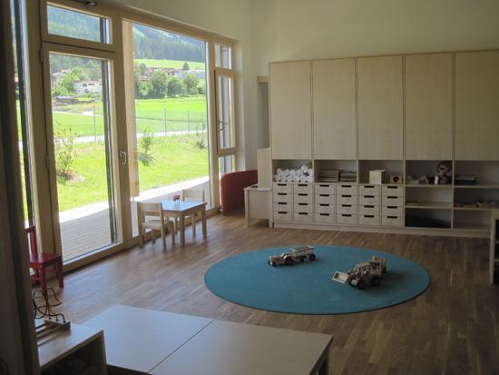 Kindergartenerweiterung Sistrans 2014