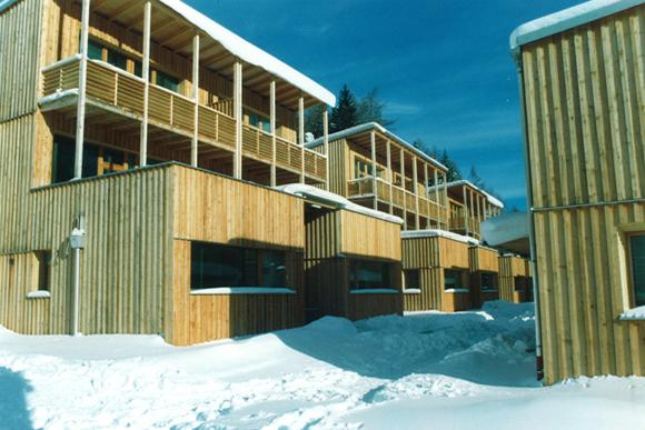 Wohnanlage Mooserkreuz, St. Anton 1998